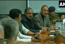 सर्वदलीय बैठक,सर्वदलीय बैठक शुरू,rajnath singh,pulwama terror attack,all party meeting